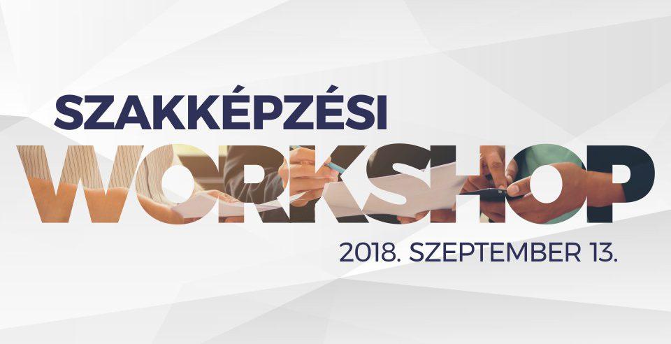 Szakképzési workshop 2018